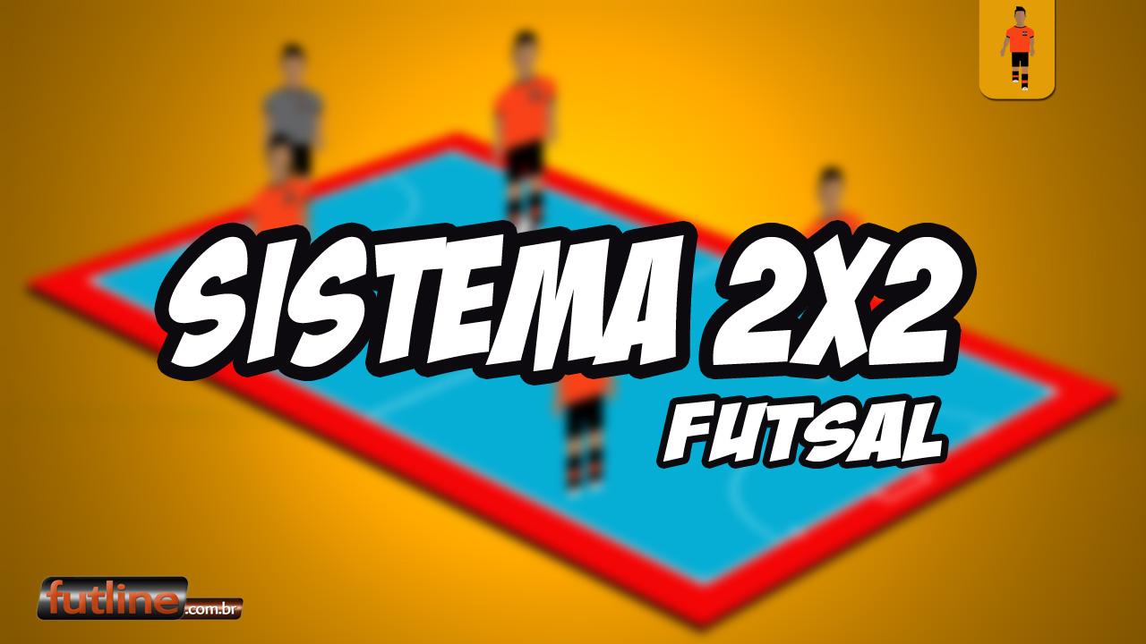 021dfa4181 Sistema Ofensivo 2x2 - Tudo Sobre Futsal