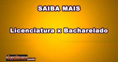 Educação Física  Licenciatura X Bacharelado 948a0fd54febd