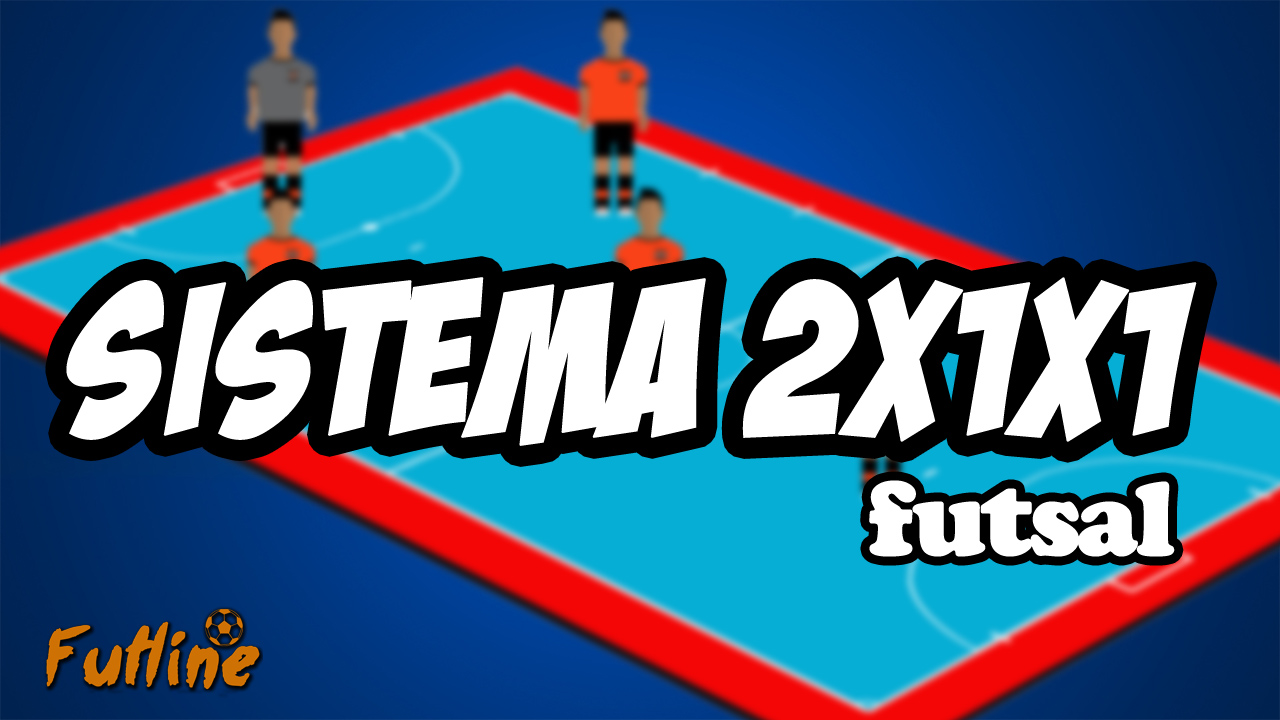 b094fc3ac1 Sistema Ofensivo 2x1x1 - Tudo Sobre Futsal